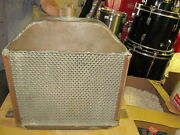 Vintage Antique Steidle Brass Honeycomb Car Radiator Truck Tractor