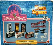 Disney World Town Square Magic Furniture And Accessories Expansion Nib Boxed M203