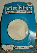 Vtg Tricolator Coffee Filter Filters For Percolator Drip Machines Makers 3 Usa