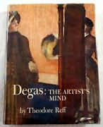 Degas Artistand039s Mind By Theodore Reff - Hardcover Excellent Condition