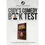 Cody's Comedy Book Test By Cody Fisher And The Magic Estate - Magic Trick
