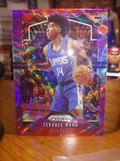 2019-20 Panini Prizm Purple Wave Terance Mann Clippers Rc Rookie Clippers T-mann