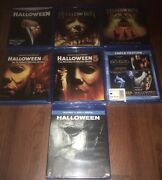 Halloween Complete Collection Blu Ray 1-9 New 2,3,4,5, Curse, H20, Resurrection