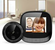 Electronic Peephole Door Viewer Zinc Alloy Night Vision Smart Viewers Camera New