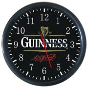 Cold Bottle Drinks Beverage Beer Guinness Logo Sign Round Wall Clock