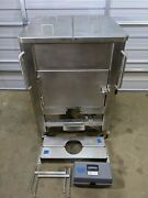 Sartorius 400l Stainless Steel Temp Control Mixing Cubical Palletank + Impellers