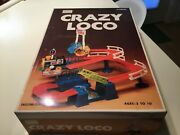 Crazy Loco - Sears 1970and039s - Vintage Train Set Track Battery Operated Toy