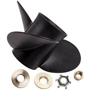 Aluminum Outboard Propeller 14 1/4x21 Pitch For Mercury 135-300hp 48-832832a45