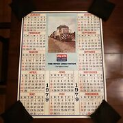 Vintage The Family Lines Rail System 1979 Wall Calander. Scl Landn