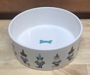 Fringe Studio Cutie Dressup Dogs Pet Large Dog Bowl 6.5andrdquo Inches Wide