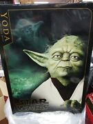 2006 11 Yoda Bust Sideshow Collectibles Life Size New In Box 005/1000