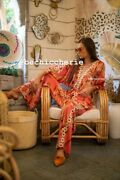 Womens New Kimono And Wide Leg Trousers Set Choose Size And Fabric Size M