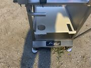 Face To Face Deli Buddy Stainless Steel Portable Meat Cheese Slicer Stand Table