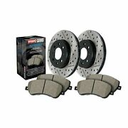 Stoptech For Infiniti, Nissan Disc Brake Pad And Rotor Front Kit - 938.42005