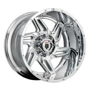 American Truxx At186 Spurs Rim 22x12 5x127 Offset -44 Chrome Quantity Of 4