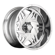 American Truxx Atf1908 Orion 24x14 8x165.1 Offset -76 Polished Quantity Of 1