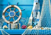 Blue Summer Concept Which Including 9x6ft Vinyl Photography Backgrounds Photo