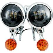 Rivco Products 4.5in. Led Auxiliary Lights With Turn Signals Mv190