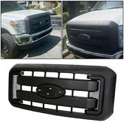 Front Grille Black Hood Radiator Grill For 11-16 Ford F250 F350 Super Duty