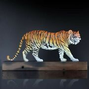 20and039and039bronze Copper Vivid Tiger Living Room Decoration Money Drawing Sculpture