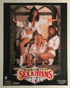 """Rare Collectible """"sorority Sex Kittens Part 1"""" Movie Poster - 23 X 17 7/8"""