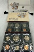 1988 Us Mint P And D Annual Uncirculated Coin Set - Complete And Original