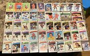 Lot Of 50 Vintage 1970andrsquos Signed Autographed Topps Nhl Hockey Cards