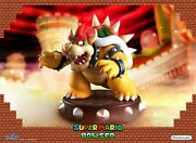 First4figures Supermario Bowser Regular Edition Statue In Box