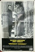 Midnight Cowboy United Artists 1969 40 X 60 X Rated Vintage Original Poster