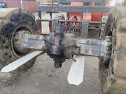 Case 721f Wheel Loader Front And Rear Axle Complete Differential Drive 721