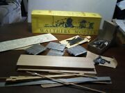Rare Nos Vintage Walthers Model O Scale Passenger Wood And Metal Wood Auto 3875