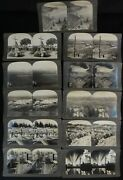 Set Of Eleven 11 Keystone Company Stereoview Cards Of California And Nevada