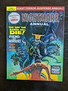 Nightmare Annual 1 The Day The Earth Will Die All Original-skywald Horror