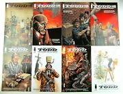 Todd The Ugliest Kid On Earth 1-8 Complete Set Image Comic Book Lot Jan 2013