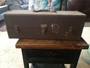 Vintage Kennedy Metal Tool Tackle Box W/contents Lures Spoons Weights