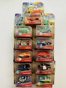 Disney Pixar Cars Color Changers Lot Of 8 Htf New 2 In 1