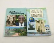2010 And 2002 Yearbook Of Jehovahs Witnesses Watchtower Bible And Tract Society