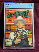 Gene Autry Comics 41 Fn - 5.5 White Pages Dell July 1950 Photo Cover Front/rear