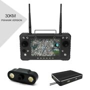 H16 Pro 30km Hd Video Transmission System Remote Controller Hdmi For Rc Drone Ts