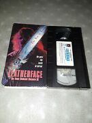 Leatherface 1st Version Original 1990 Release Texas Chainsaw Massacre Iii 3 Vhs