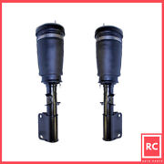 Front L And R Air Suspension Strut Fit 2000-2006 Bmw X5 W/ 4 Wheel Auto Leveling