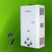 New Lpg Propane Gas Tankless Water Heater 12l / 3.2gpm  - Hot Choice™