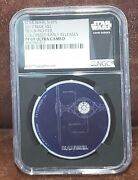 2017 Star Wars Niue Ngc Pf 69 1oz Silver 2 Tie/ln Fighter Colorized/er
