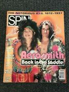 Aerosmith Signed Rolling Stone By 2 Autographed Auto Bas Not Psa Steven Tyler