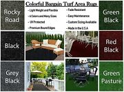 6and039 X 20and039 Colorful Indoor/outdoor Turf Runners / Great For Gazebos Decks Patios