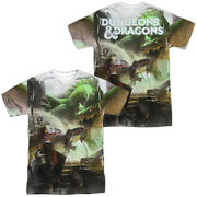 Dungeons And Dragons Starter Cover Licensed Adult Menand039s Graphic Tee Shirt Sm-3xl
