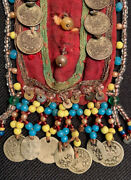 Old Russian Chest Decoration With Rare Old Silver Coins