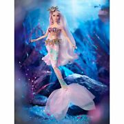 Mermaid Enchantress Barbie-mythical Muse Series-fxd51-2019-gold Label-nrfb-mint