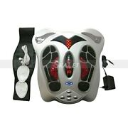 Electric Foot Feet Massager Pulse Infrared Heat Therapy Massage Relaxation
