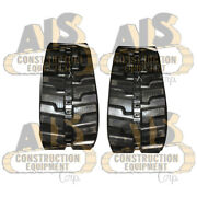Set Of Two New Rubber Tracks Fits Bobcat Model X331 And Replaces Mpn 20p3571116